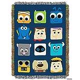 Disney Pixar Pixarland Tapestry Throw, 46 by 60