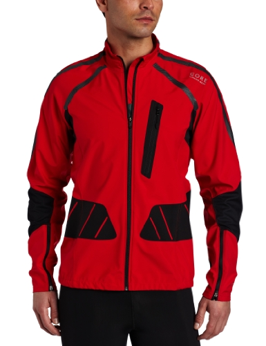 Gore Running Wear Gore Men's X-Running As Jacket (Large, Red/Black)