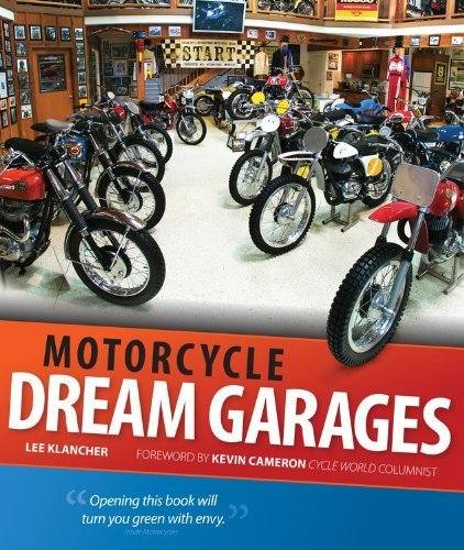Motorcycle Dream Garages by Klancher, Lee (2013) Flexibound (Motorcycle Dream Garages compare prices)