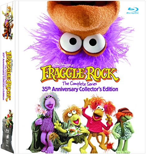 Blu-ray : Fraggle Rock: The Complete Series (Limited Edition, Boxed Set, Anniversary Edition, Remastered, 12PC)