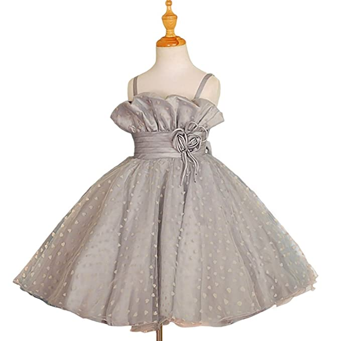 Dressy Daisy Girls Tulle Flower Girl Dresses Pageant Party Dress