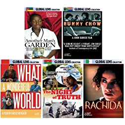 Global Lens - The Best of World Cinema - Volume 2: Africa - 5 DVD Collector's Edition