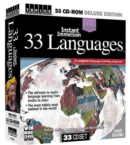 Instant Immersion 33 LanguagesB00009ADF5