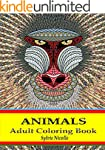 Adult Coloring Book: Animals Stress R...
