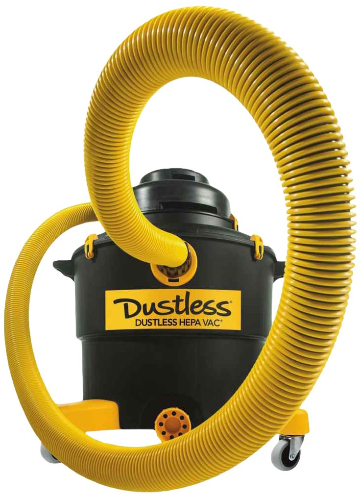 Dustless Technologies D1606 16-Gallon Dustless Hepa Wet/Dry Vacuum ...