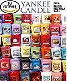 Yankee Candle Votives - Grab purse of 10 Assorted Yankee Candle Votive Candles - Random Mixed Scents
