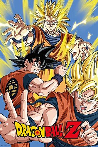 "GB eye 61 x 91,5 cm, motivo Goku ""Dragon Ball Z-Maxi Poster, multicolore"