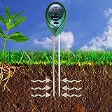 XLUX T12 2 in 1 Erde PH und Feuchtigkeit Messgerät Tester für drinnen und draußen Pflanzen Garten & Gras Rasen