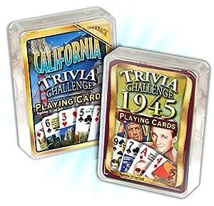 Amazon.com: Happy 70th Birthday: 1945 Trivia Playing Cards