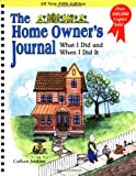 img - for The Home Owner's Journal, Fifth Edition book / textbook / text book