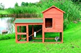 TRIXIE-Pet-Products-Rabbit-Hutch-with-Attic
