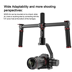 MOZA Air 3 Axis Handheld Gimbal Stabilizer with Dual
