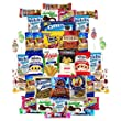 Cookies Candy Crackers & Chips Variety Pack Care Package (40 Count)