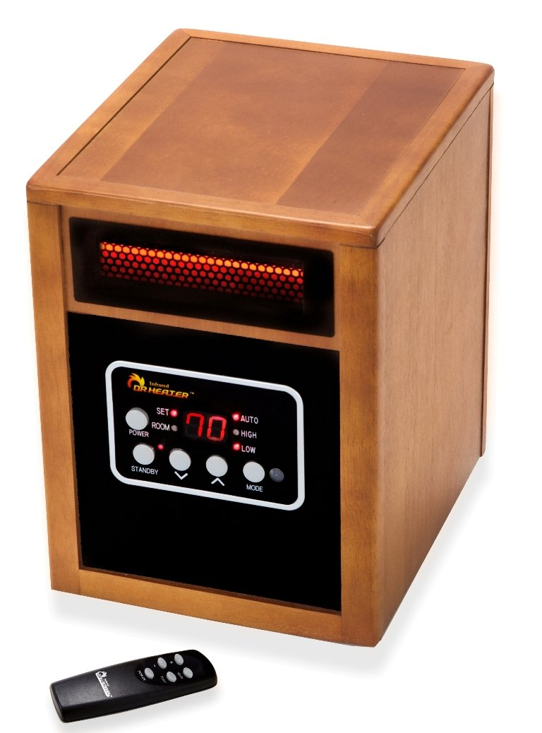 The Dr Infrared Dr968 is definitely one of the best infrared heaters on this list.