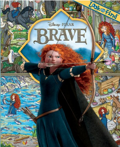 Look and Find: Disney's Pixar Brave, by Publications International