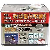 ニッペ 油性塗料 高耐久シリコントタン屋根用グレー 7kg