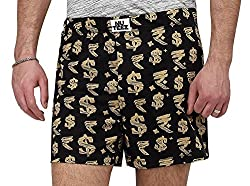 Nuteez Doller and Rupees Men Boxers