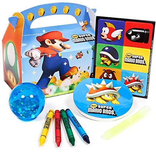 Party Destination 164469 Super Mario Bros. Party Favor Box