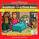 img - for By Ana Lomba Easy Spanish Storybook: Goldilocks and the Three Bears (Book + Audio CD): Ricitos de Oro y los Tres (1st First Edition) [Hardcover] book / textbook / text book