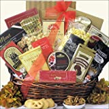 Snack Attack ~ Medium Perfect for 2-4!: Gourmet Snacks Gift Basket