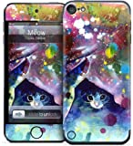 GELASKINS Apple iPod Touch 第5世代 スキンシール 【Meow】 tof5-162