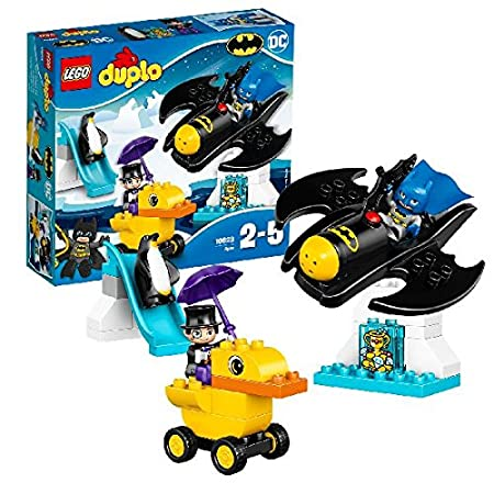 LEGO - 10823 - DUPLO - Jeu de Construction - L'aventure en Batwing