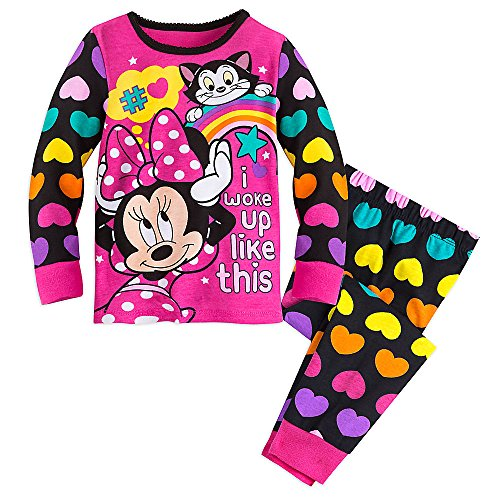 Disney Girls Minnie Mouse Clubhouse PJ PALS 5 Multi