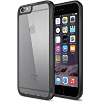 Trianium Clear Cushion Protective Case Apple iPhone 6 (Ultra Clear - Jet Black)
