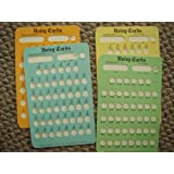 Holey Cards (Subtraction Facts 0-9) ~ Vivian & William Rankin