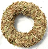 "Living Wreath Sphagnum Moss - 11"" Outside Diameter"