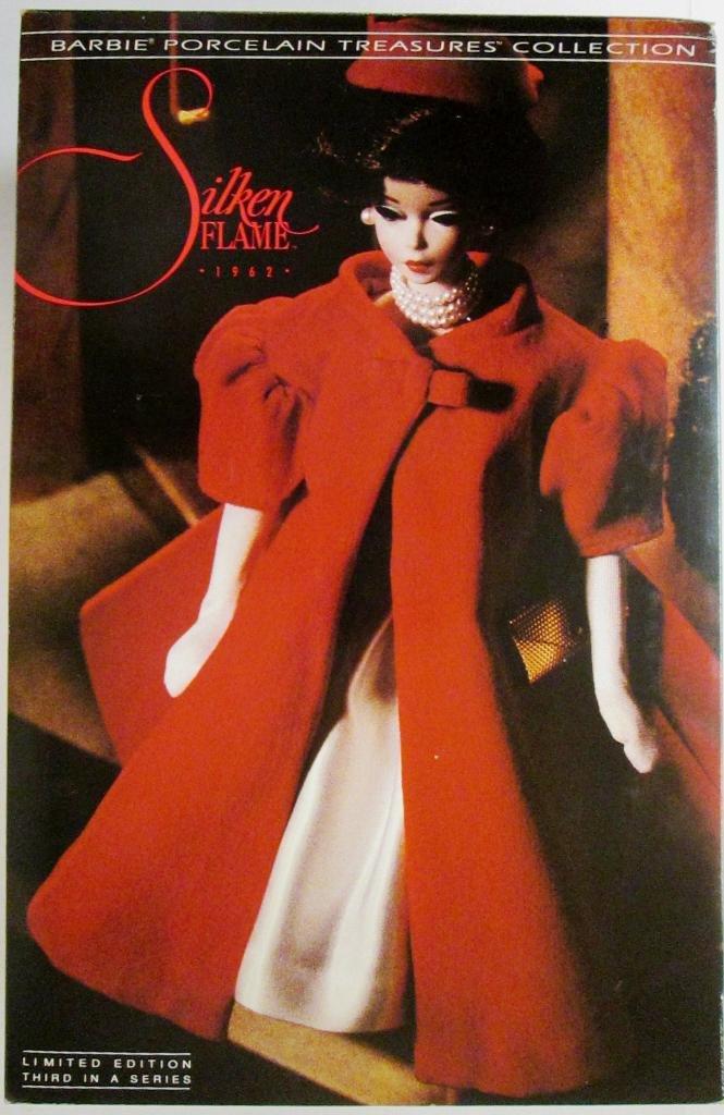 Silken Flame Barbie Porcelain1993 jetzt kaufen
