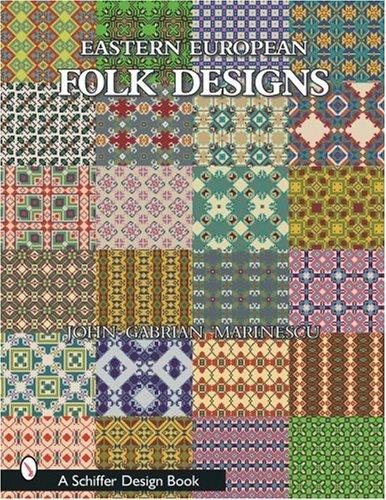 Fabric Design Guide Book On Store Eastern European Folk