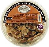Judy's Candy Co. Sugar Free Coconut Almond Brittle 10 oz. tub