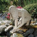 Nude Female Lake Fountain Garden Statue Sculpture Figurine