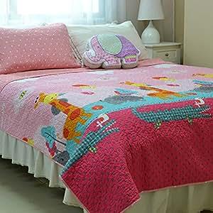 memorecool multifunction quilt luxury 100 cotton bedspread coverlet sets kids 2. Black Bedroom Furniture Sets. Home Design Ideas