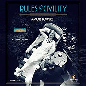 Rules of Civility Audiobook