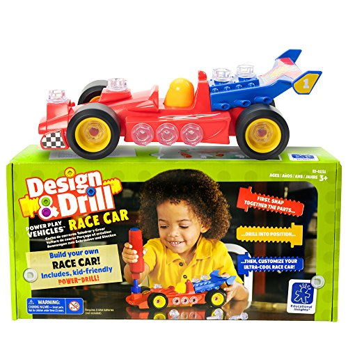 Educational Insights Design & Drill Power Play Vehicles Race Car JungleDealsBlog.com