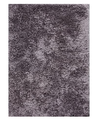 Jaipur Rugs Shag Solid Pattern Polyester Area Rug  [Grey]
