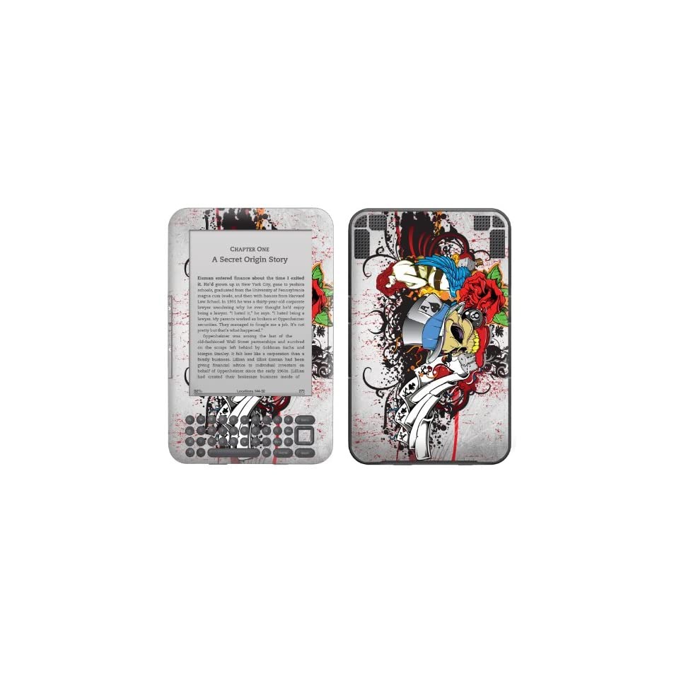Protective Decal Skin Sticker for Kindle 3 3G (the 3rd