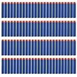 100 Pcs 7.2cm Blue Foam Darts for Ner...