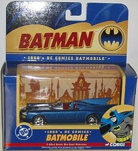 1960's DC Comics Batmobile 1/24 Scale Die-Cast Vehicle