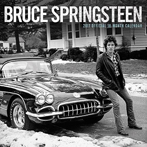 Bruce Springsteen 2017 - 18-Monatskalender: Original BrownTrout-Kalender (Square Wall)