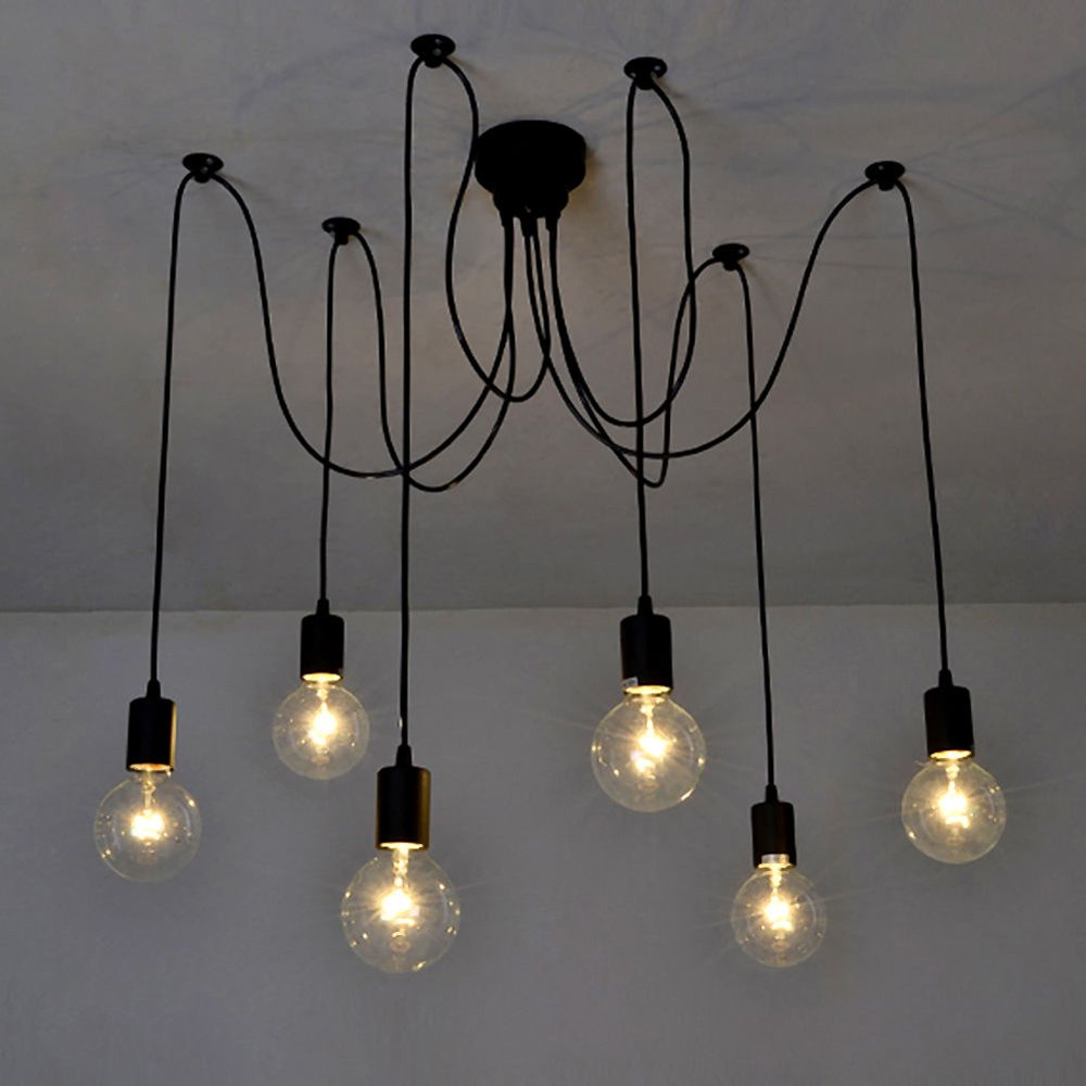 Lámpara lixada de techo
