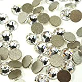 144 pcs Crystal (001) clear Swarovski NEW 2088 Xirius 12ss Flat backs Rhinestones 3mm ss12