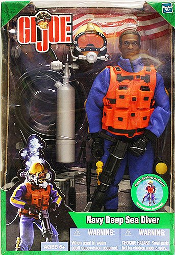 Buy Low Price Hasbro GI Joe Navy Deep Sea Diver Action Figure (B004TLH4MI)