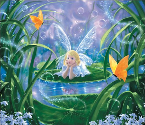 Cheap Fun Sunsout Lily Fairy 200 Piece Jigsaw Puzzle (B000BXHOLY)