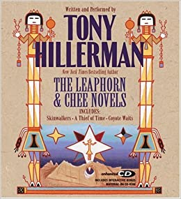Tony Hillerman The Leaphorn And Chee Audio Trilogy border=