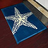 yazi-Non-Slip-Doormat-Kitchen-Rugs-Mediterranean-style-With-White-Starfish-40x60cm-157x236inch