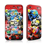 IPhone 4 / 4S skin - Speed Collage Motorcycle Racers - High quality precision engineered removable adhesive vinyl skin sticker for the Apple iPhone iPhone 4 / iPhone 4s (8gb / 16gb / 32gb / 64gb)