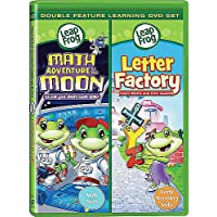 Leap Frog: Math Adventure To The Moon/Letter Factory Dvd